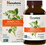 Himalaya MindCare/Mentat with Bacopa and Gotu Kola for Brain and Mental Alertness, 1170 mg, 120 Capsules, 2 Month Supply