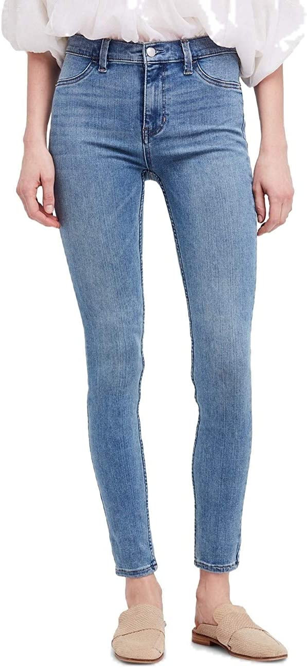 Free People Women's Long Lean Je Rise Waist Jeggings High Super-cheap Max 53% OFF