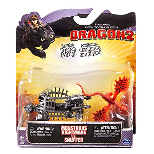 DreamWorks Dragons How pour Train Your Dragon 2 Pack Bataille - Monstrous Nightmare vs. Snuffer by Spin Master, Ltd