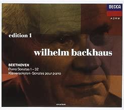 wilhelm backhaus beethoven sonatas