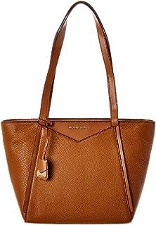 Womens Whitney Pebbled Leather Tote Handbag