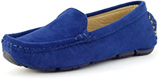 کفش راحتی زنانه DADAWEN مدل چرم جیر مردانه آکسفورد Flats Comfort Loafer