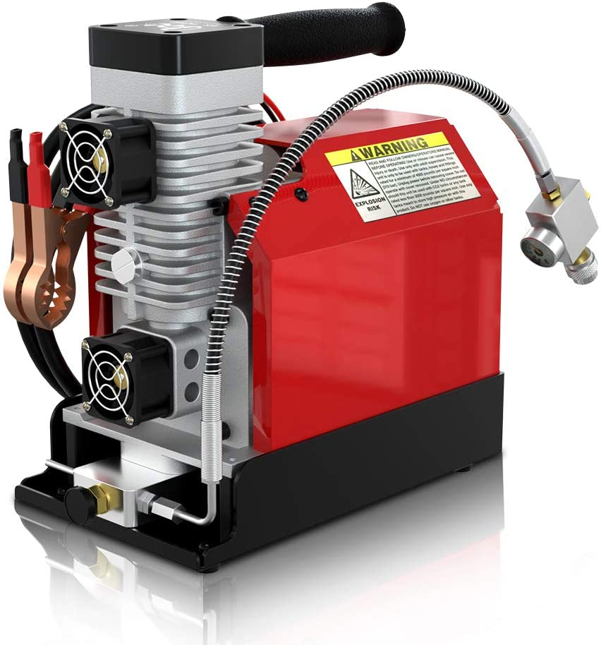 GX CS2 Portable High Pressure Air Compressor 4500psi/30Mpa with Extra Moisture-Oil Separator
