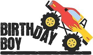 Birthday Boy Monster Truck Notebook: Rev and Roar Racing Fan