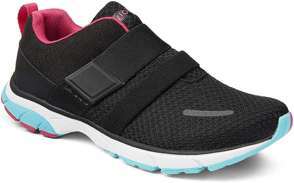 Vionic Women's Drift Milan Slip-On Adjustable Strap Leisure Snea