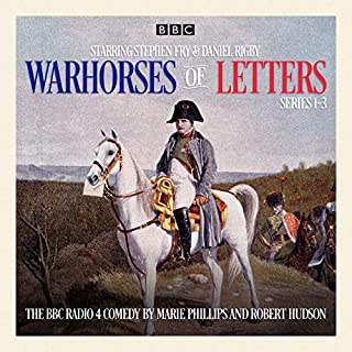 Warhorses of Letters: Complete Series 1-3     The Poignant BBC Radio 4 Comedy              By:                                                                                                                                 Marie Phillips                               Narrated by:                                                                                                                                 Daniel Rigby,                                                                                        full cast,                                                                                        Stephen Fry,                   and others                 Length: 2 hrs and 45 mins     2 ratings     Overall 3.5
