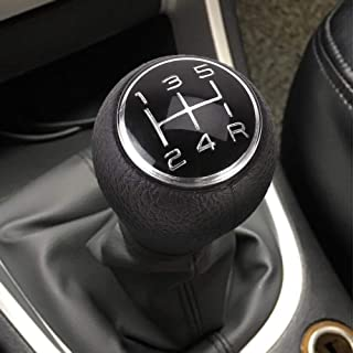 Per Newly 5 Speed Manual Car Gear Shift Shifter Knob for Citroen C1 C3 C4 / for Peugeot 106 107 205 206 207 306 307 308 309 405 406 407 508 605 607 806 807 Chrome