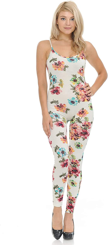 JJJ Women Regular discount Very popular! Catsuit Cotton Spaghetti Strapped Jumpsu Yoga Bodysuit