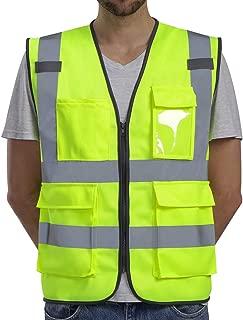 Best multi pocket safety vest Reviews