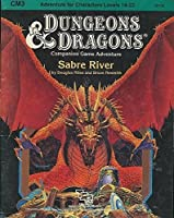 Sabre River (Dungeons & Dragons, Module CM 3) 0880381183 Book Cover