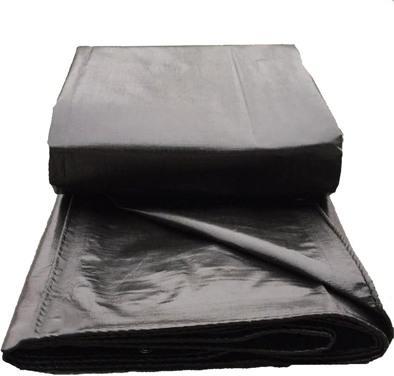 ZRTarps Tarpaulin Waterproof Tarp, Heavy Duty MultiPurpose, Outdoor Black 200g m2 Thickness   0.4mm Outdoor Equipment (color   Black, Size   2  3m)