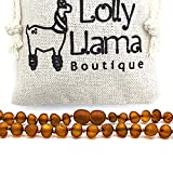 Best Baltic Amber Teething Necklaces - Raw Amber Necklace (Unisex) Alternative Pain Relief Review