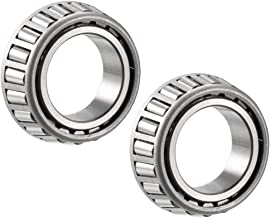 uxcell L44649 Tapered Roller Bearing Single Cone 1.0625 inches Bore 0.58 inches Width 2pcs