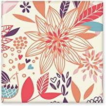 DIYthinker Lotus Bloem Plant Verf Glanzende Keramische tegel Badkamer Keuken Wandsteen Decoratie Craft Gift