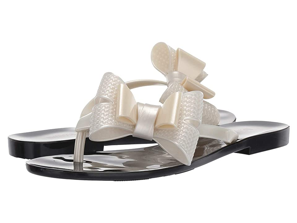 Melissa Shoes Harmonic Bow V (Black/White) Women