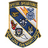 Joint Special Operations Command JSOC Patch We Love The Night Life