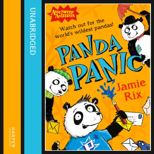 Awesome Animals: Panda Panic audiobook cover art