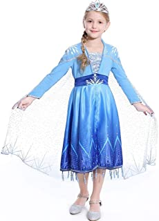 Anime Cosplay Costume New Version for Girls Size 110-140