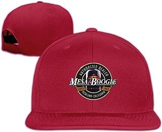 Yearzimn Unisex Baseball Cap Washed Dyed Mesa Boogie Design Men's&Woman Adjustable Flat Caps