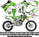 Team Racing Graphics kit compatible with Kawasaki 1994-1995 KX 125/250, EVOLV
