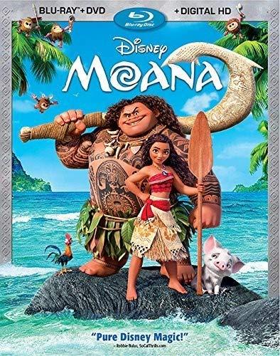 MOANA (AKA: VAIANA) [Blu-ray]