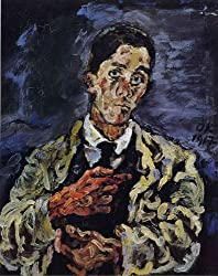 オスカー・ココシュカ「自画像」1917年