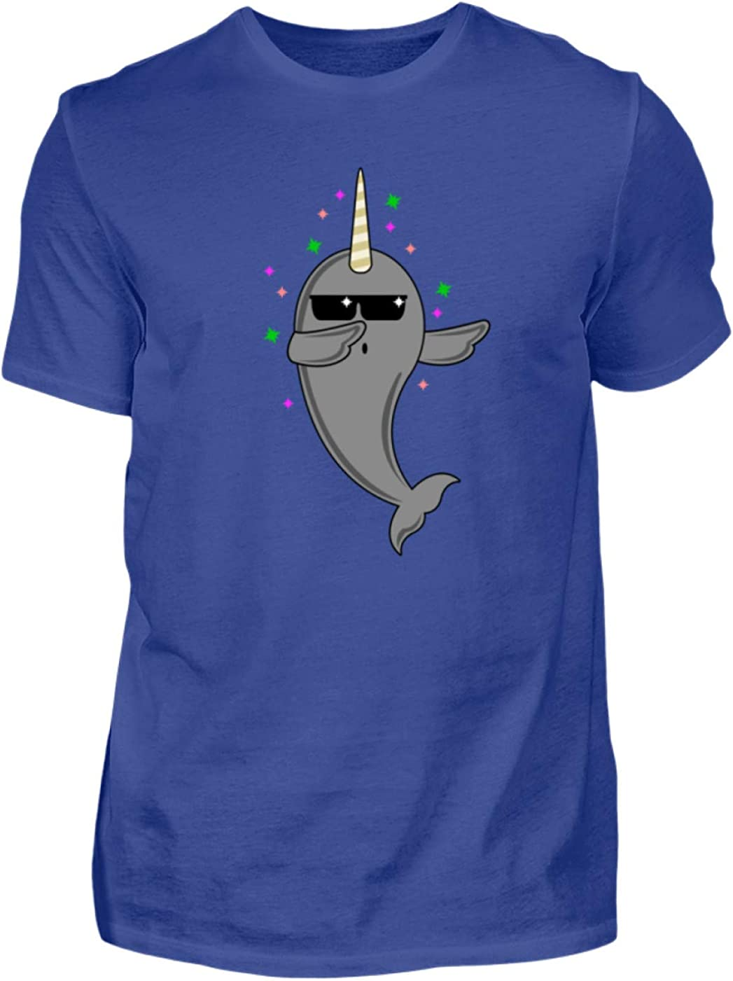 Camiseta para Hombre Dabbing Narwal Narwhal Narwhale In The ...