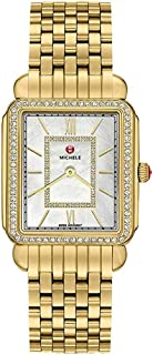 Michele Deco II Mid-Size Diamond Women's Watch MWW06I000007
