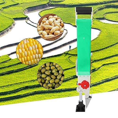 Lowest Prices! Bulb Planter, Handheld Seed Spreader, for Broadcasting Peanuts Soybeans Fertilizer