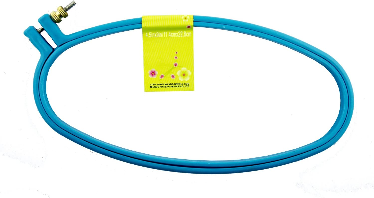 HAND EH-001 Oval Plastic Super Max Columbus Mall 53% OFF Embroidery Cross Hoop Stitch Grip
