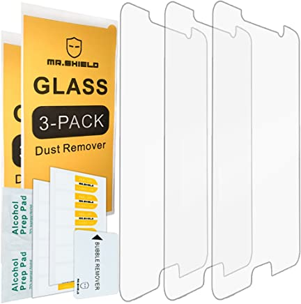 Mr.Shield [3-Pack] for Samsung Galaxy Note 5 [Tempered Glass] Screen Protector with Lifetime Replacement Warranty