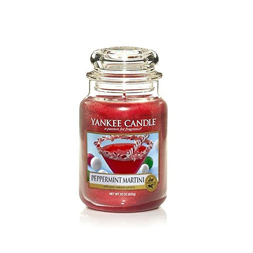 診断する犬枝Yankee a Candle Limited Edition Peppermint Martini Large Jar