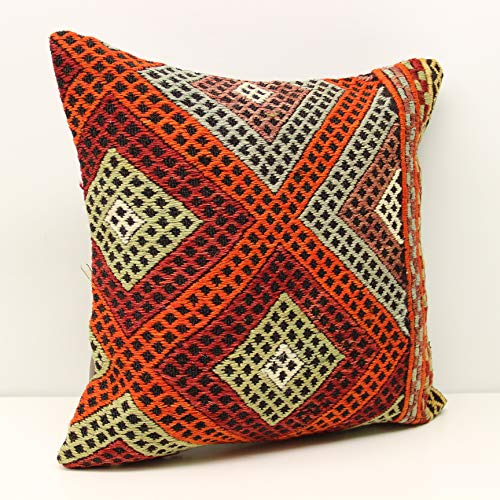 kilim pillow cover 18x18 inch
