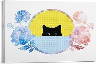wangjian Felidae Kleine tot middelgrote katten Whiskers Posters Esthetische Canvas Art Poster en Wall Art Picture Print Mo...