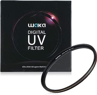 67mm レンズフィルター MC UV フィルター-ウルトラスリム16層多層加工 99% 透過率 薄枠 防水 油汚れ防止 擦り傷防止 紫外線保護 Canon Nikon Sony 富士対応