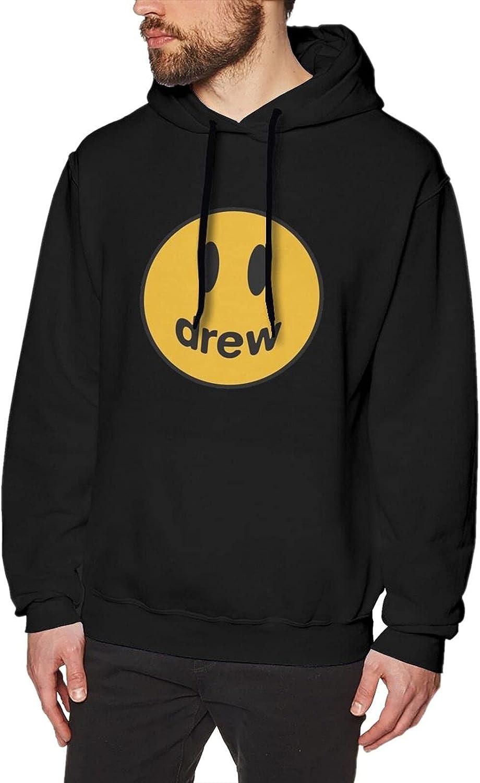 Drew House Smiley Fresno Mall Tulsa Mall Sweater Men'S Casual Hooded Fashion Ho