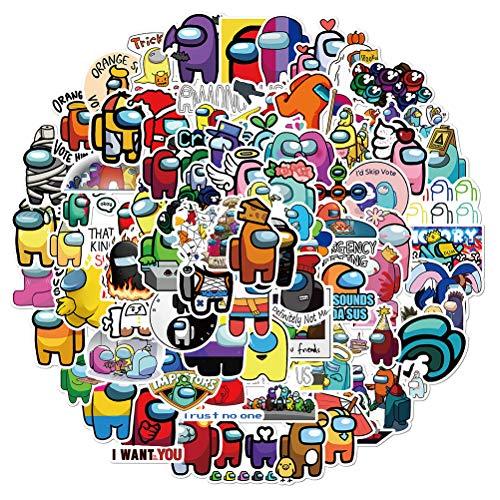 Smosyo 100 Piezas de Pegatinas de Vinilo Pegatinas de Graffiti Autoadhesivas para niños Conjunto de Pegatinas Decorativas Lindas para niñas Paquete de Pegatinas Impermeables para computadora