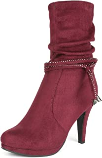 Women's Platform High Heels Fashion Boots