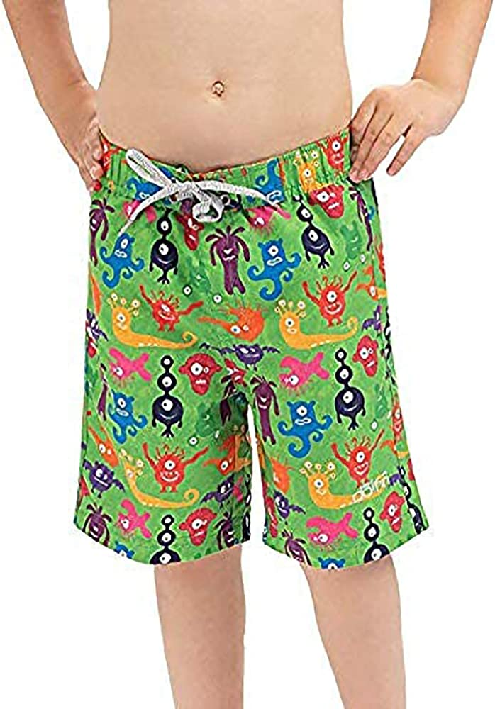 Max 76% OFF safety Dolfin Little Boy's Trunks Swim Printed