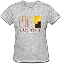 Womens Meet Me in Orbit Traveller T Shirts 100% Cotton