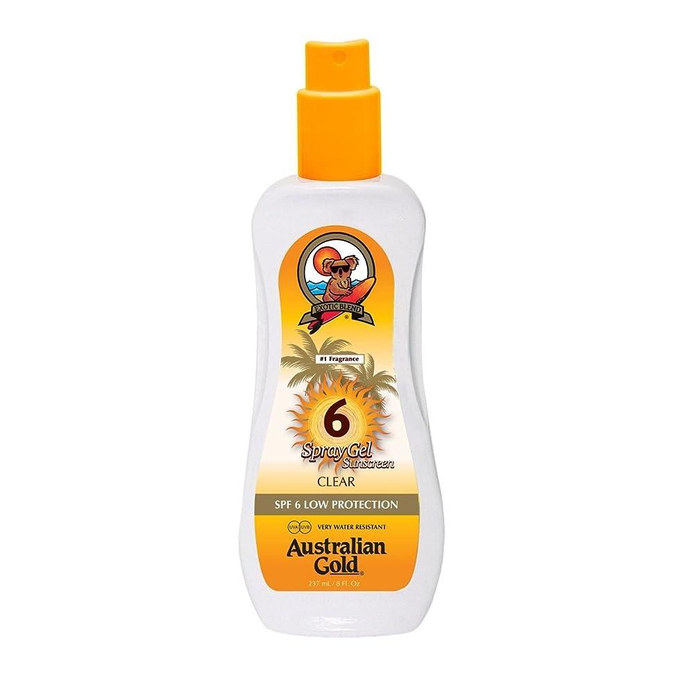 重々しいバンメンターAustralian Gold Spray Gel Spf6 237ml [並行輸入品]