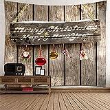 KnBoB Tapiz para Pared Consejo Merry Christmas & Happy New Year...