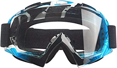 MOOREAXE Motorcycle Goggles,Motocross Motorbike Mountain Bike Windproof Dusty proof UV400 Off Road MX Goggles,Riding Gear ...