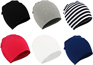 Zando Toddler Baby Beanies Hat for Baby Girls Cotton Knit Beanie Kids Lovely Soft Cute Cap Infant Beanies for Baby Boys