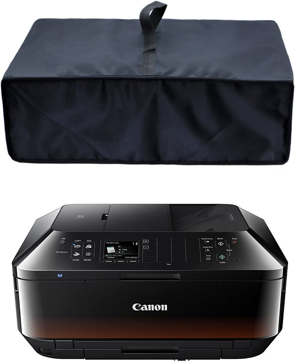 CYGQ Nylon Fabric Antistatic Water Resistant Printer Dust Cover Case Compatible with Canon MX922/MX492/MX532 All-in-One Printer