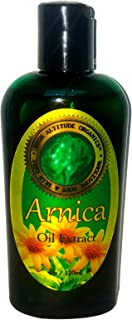 Arnica Oil Extract (Arnica Montana) - 4 oz - 100% Pure and Potent - Anti-inflammatory for Sore Muscles, Bruises, Sprains, ...