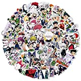 Sweet&rro17 100 pegatinas Anime Hunter x Hunter x Hunter, vinilo adhesivo resistente al agua para portátil, portátil, monopatín