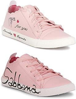 Claptrap Huge Collection ofWomen'sSlip-On Shoes (Pink-DNG Pink)
