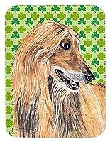 Caroline's Treasures Afghan Hound St. Patrick's Day Shamrock Mouse Pad/Hot Pad/Trivet (SC9502MP) [並行輸入品]