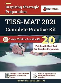 TISS Management Aptitude Test (MAT) Preparation Kit for TISS-MAT 20 Full-length Mock Tests Latest Edition Book By EduGorilla